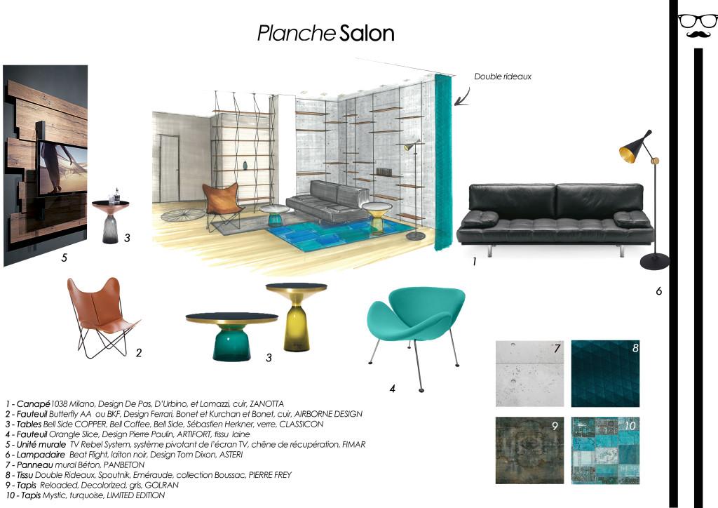 planche perspective shopping salon