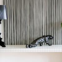 décoration intérieure console panthere