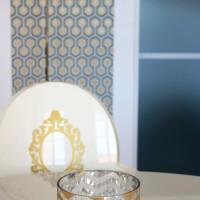 decoration intérieure Table et papier peint