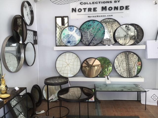 Decoration ete salon c t sud aix en provence for Miroir notre monde