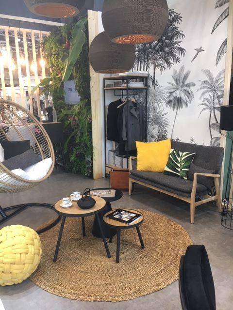 workspace decoration hall entreprise Maisons du monde pro